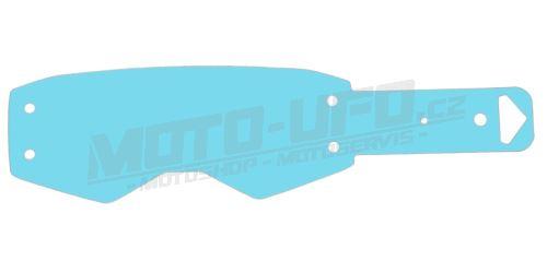Strhávací slídy plexi pro brýle SCOTT řady PROSPECT, QTECH - EU (50 vrstev v balení, čiré)