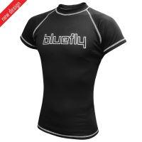 BLUEFLY – TERMO PRO - tričko krátký rukáv – černé unisex vel: S