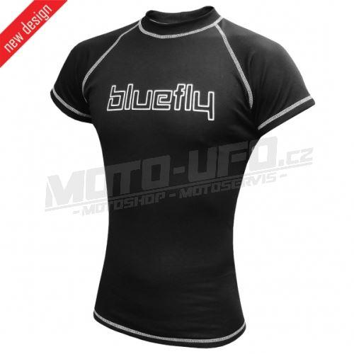 BLUEFLY – TERMO PRO - tričko krátký rukáv – černé unisex