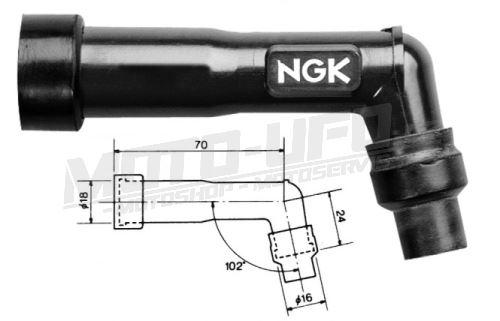 NGK fajfka XB05F