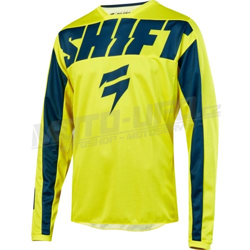 SHIFT dres WHIT3 YORK Yellow, Navy