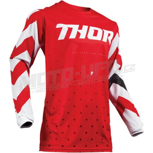THOR dres S9 PULSE stunner red
