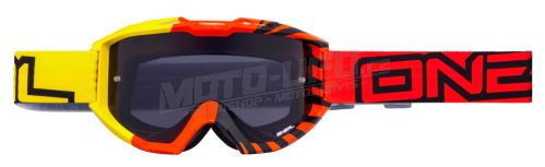 ONEAL brýle B1 OKINAWA čiré sklo – yellow/orange