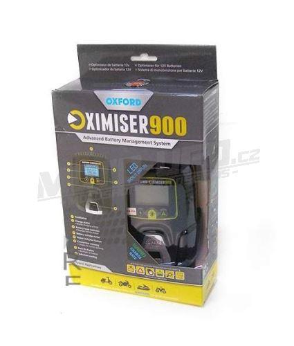 OXFORD nabíječka/udržovačka OXIMISER 900 + konektor pro nabíjení bez nutnosti demontáže baterie
