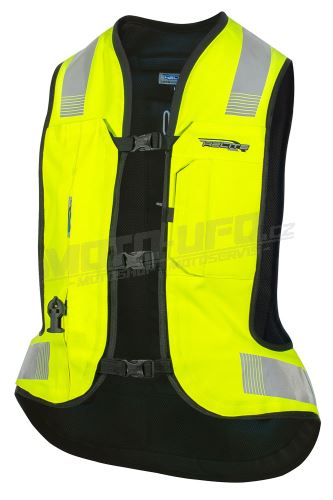 HELITE airbagová vesta TURTLE 2 HI-VIS – neon. Žlutá