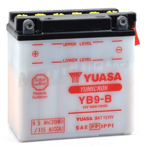 YUASA baterie YB9-B (12V 9,5Ah)