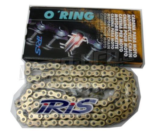 IRIS řetěz 520 HTP zlatý 108čl. těsněný/ o kroužkový
