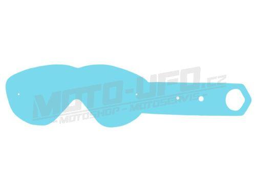 Strhávací slídy plexi pro brýle SPY, QTECH - EU (50 vrstev v balení, čiré)