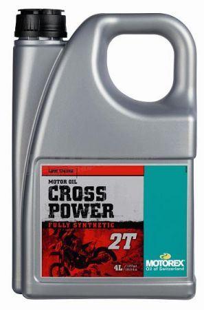 MOTOREX olej CROSS POWER 2T – 4L