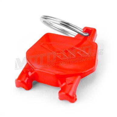 CYCRA klíčenka startovní tabulka - červená