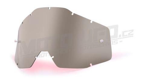 Plexi Racecraft/Accuri/Strata, 100% - USA (kouřové, Anti-fog)
