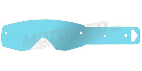 Strhávací slídy plexi pro brýle SCOTT řady HUSTLE/TYRANT, QTECH - EU (10 vrstev v balení, čiré)