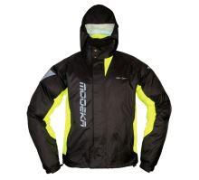 MODEKA bunda do deště AX DRY II černá, žlutá vel: L