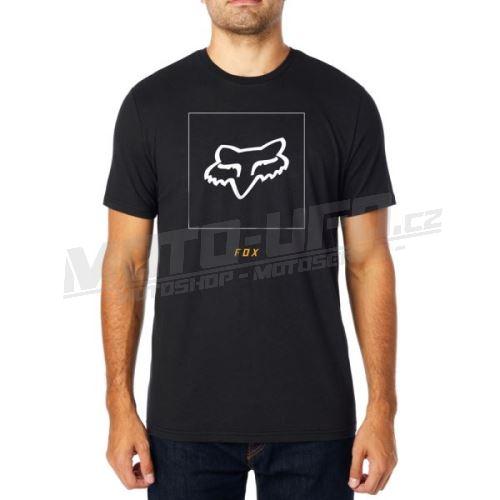 FOX funkční tričko Crass Ss Airline Tee černé