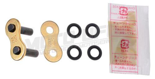 Spojka řetězu 520VX2, D.I.D. - Japonsko (barva zlatá, typ ZJ)