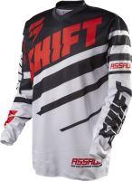 SHIFT dres ASSAULT Race Black/White vel: XL