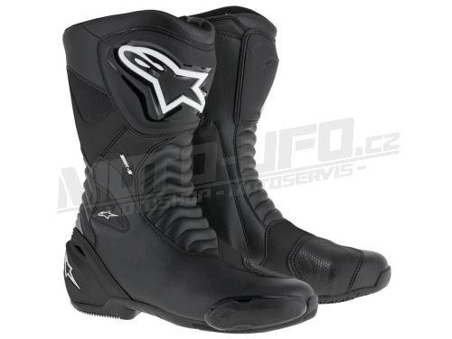 Boty SMX-S, ALPINESTARS - Itálie (černé)