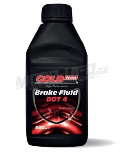 GOLDFREN  brzdová/spojková kapalina Brake & Clutch Fluid 260 DOT 4 - 500 ml