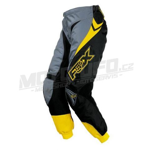 FOX kalhoty 180 RACE yellow vel: 32
